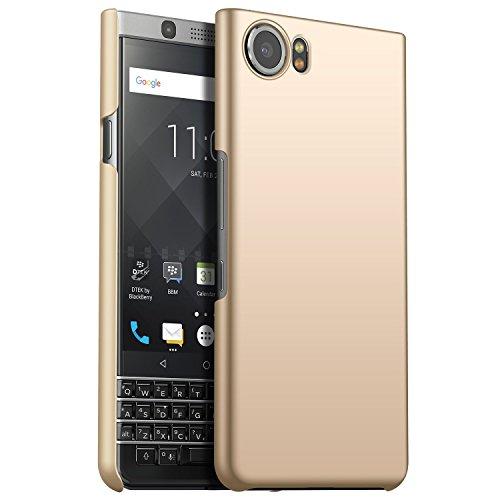 CiCiCat BlackBerry Keyone Hülle Handyhüllen, Hard PC Back Cover Case Schutz Hülle Tasche Schutzhülle Für BlackBerry Keyone. (BlackBerry Keyone 4.5'', Gold) -