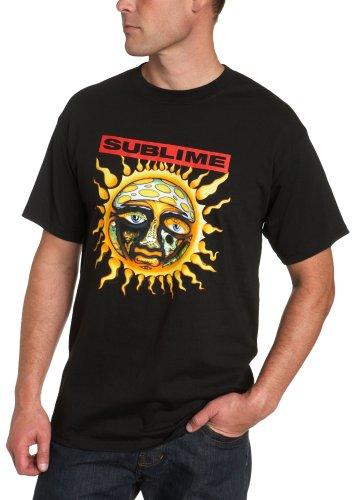 Sublime Herren T-Shirt New Sun Short Sleeve - Schwarz - Mittel