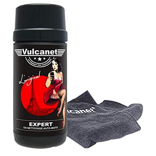Vulcanet Lingettes de nettoyages sans eau auto-moto 80 lingettes