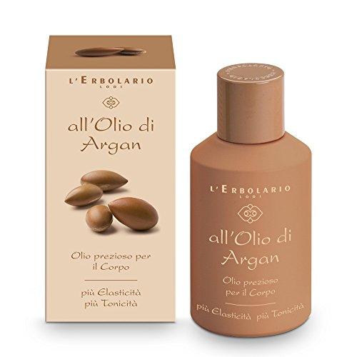 L'Erbolario Arganöl hochwertiges, spezielles Körperöl, 1er Pack (1 x 125 ml)