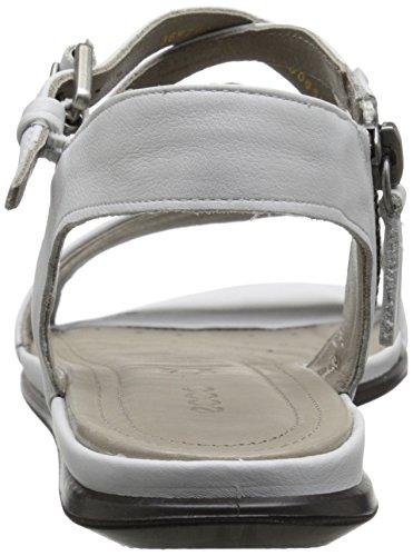 Ecco Ecco Touch Sandal, Sandales Bride cheville femme Blanc - Weiß (WHITE11007)