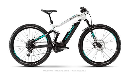Haibike Sduro FullNine 7.0 29'' Pedelec E-Bike MTB schwarz/grau/türkis 2019: Größe: M*