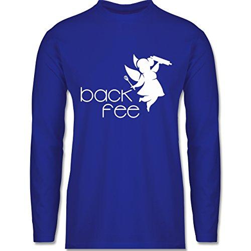Küche - Back Fee dicke Fee - Longsleeve / langärmeliges T-Shirt für Herren Royalblau
