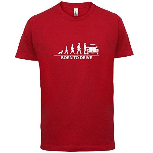 Born To Drive (Beetle) - Herren T-Shirt - 13 Farben Rot