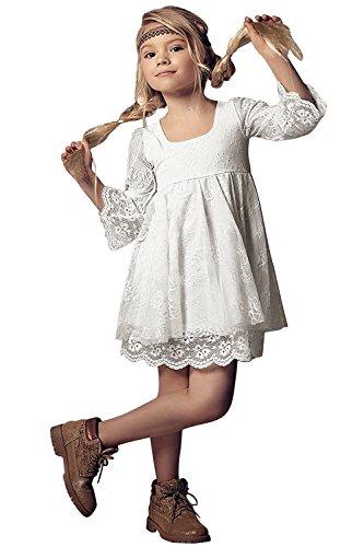 Babyonlinedress Kinder Blumenmädchenkleider Hochzeitskleid Festlich Brautjungfern Kleid Prinzessin...