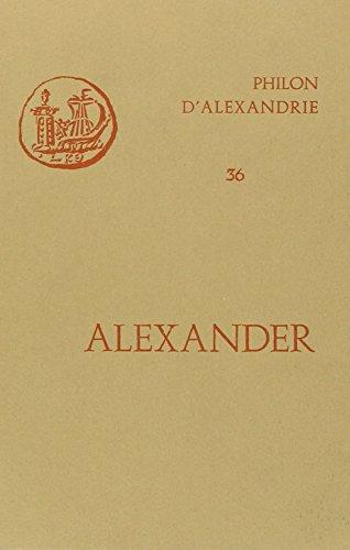 ALEXANDER. : De animalibus, édition bilingue latin-français