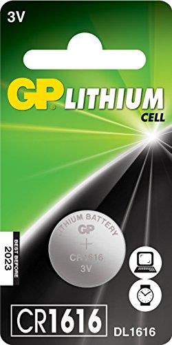 GP cellule au lithium C1 CR1616