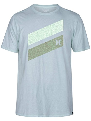 Herren T-Shirt Hurley Icon Slash Push Through T-Shirt (Tee Hurley Icon)