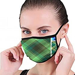 Große Sammlung Plaid S Illustrationen Clip Art Maske Half Face Mouth-Muffle Fashion Motorrad Anti Dust Kostüm Fashion Maske