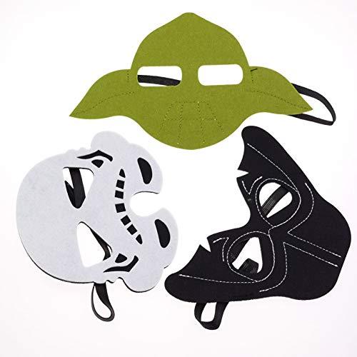 WWVAVA Maske Superheld Halloween Kostüme Cosplay Maske Kindergeburtstag DIY Geschenk, (Wolverine Original Kostüm)