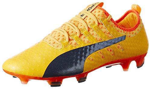 Puma Herren Evopower Vigor 1 Fg Fußballschuhe Orange (Ultra Yellow-Peacoat-Orange Clown Fish 07)