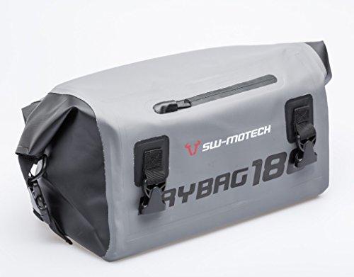 Wasserdichte Hecktasche Drybag 180, 18 Liter, grau/schwarz, wasserdicht