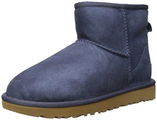 ugg-australia-classic-mini-ii-navy-womens-boots-size-38-eu
