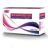 30 x Test di Ovulazione Test Ovulazione + 5 x Test di Gravidanza Ultrasensibili, LH Test 30 HCG Tests di Fertilità Femminile