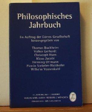 Philosophisches Jahrbuch 2004: Band 111.1