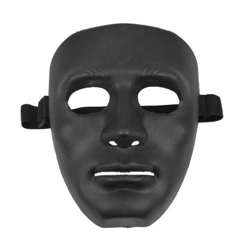 TOOGOOR Mascara negra de Halloween