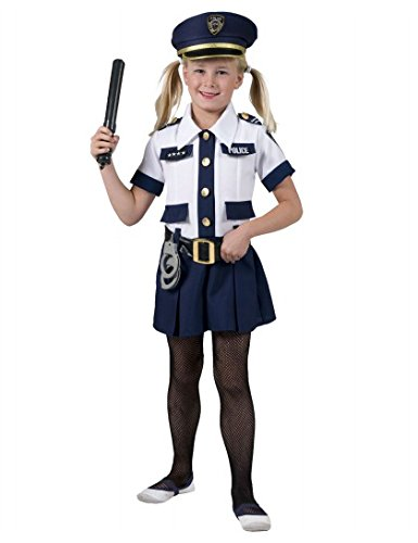 (Girl Cop Kostüm Kinder)
