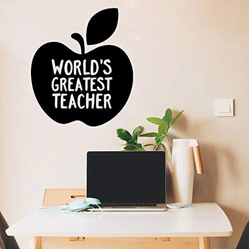 Weltweit größte Lehrer wandaufkleber PVC abnehmbare für Wohnzimmer unternehmen Schule büro Dekoration 86x98 cm