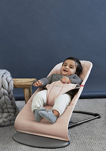 BabyBjörn 006014 Babywippe Bliss Altrosa, Cotton, rosa