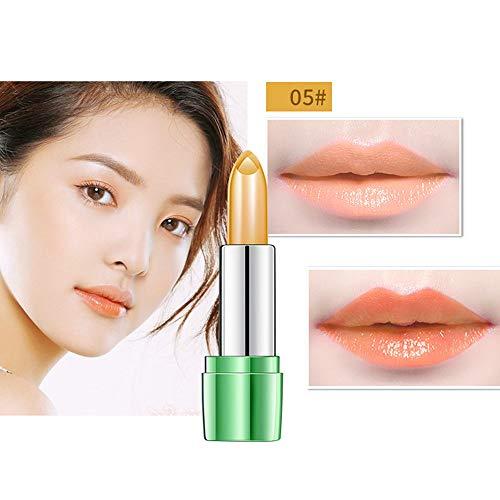 LEXUPE Beauté Brillant Rouge à lèvres gelée Cristal aloès Magie Changement de température Couleur lèvre b Pas Cher (Multicolore)