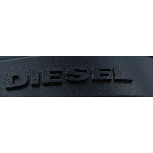 Diesel, Ciabatte da spiaggia uomo Nero (nero)