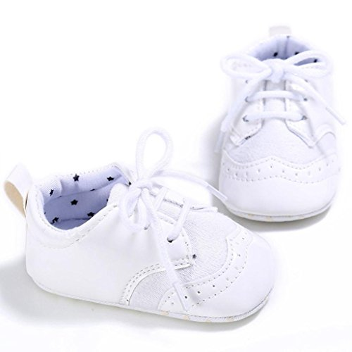 Culater? Pattini appena nati dei sandali del bambino della neonata del bambino della neonata dei bambini (1.5, Bianca)