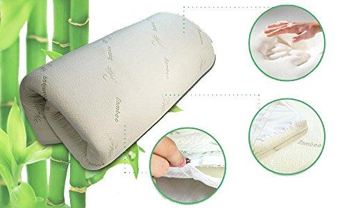 Bamboo Memory Foam Mattress Topper - Double (135 x 190 cm, 2.5cm) 2