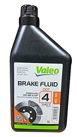 Liquide de freins 1 litre DOT4 Valéo 402403