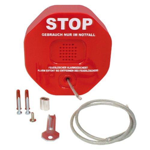 feuerloescher schutzkasten Diebstahlsicherung - Sicherung für Feuerlöscher