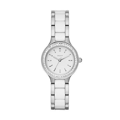 26aa0194f7eb DKNY Reloj Analogico para Mujer de Cuarzo con Correa en Acero Inoxidable  NY2494