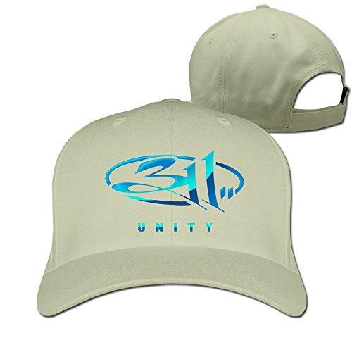 thna-311-band-logo-adjustable-fashion-baseball-hat-one-size