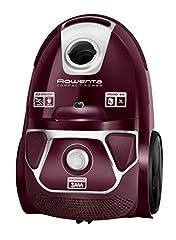 Idea Regalo - Rowenta RO3969EA Compact Power Aspirapolvere a Traino con Filo e con Sacco, con Home & Car Kit Capacita 3 l, Potenza 750 W