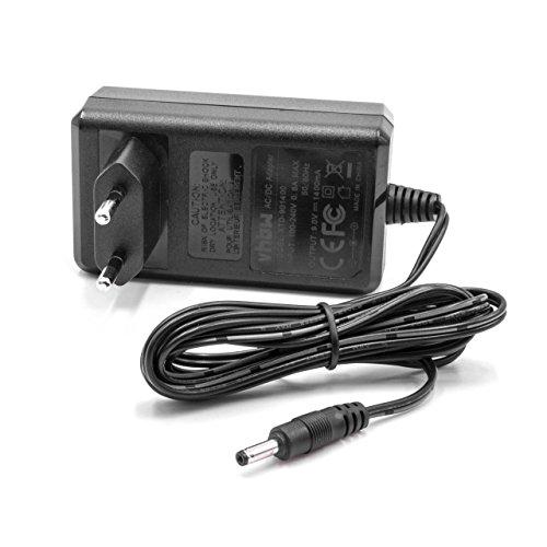 Vhbw 220v caricabatterie per elettrostimolatore compex sport elite, vitality
