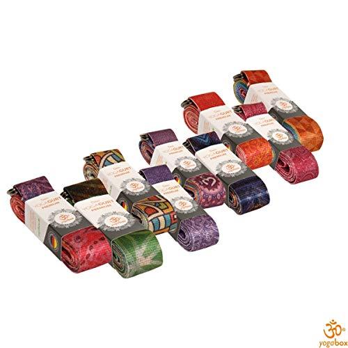 Yogagurt Premium div. Designs u.a für Kundalini, Bikram, HotYoga, Ashtanga Yoga