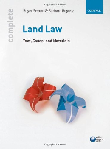 Complete Land Law: Text, Cases and Materials