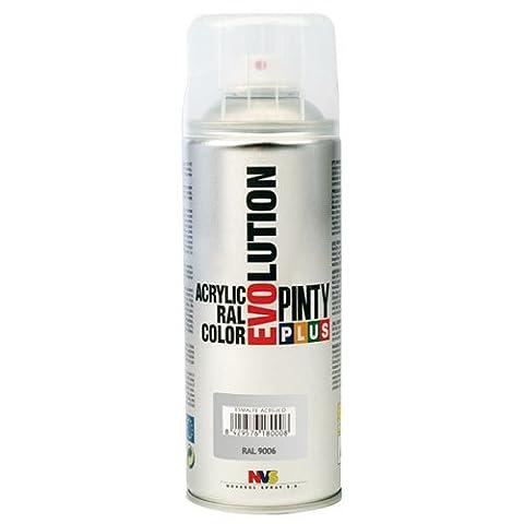 Pinty 598 Bombe 400 ml Aluminium RAL 9006 Brillant