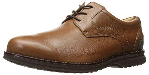 Rockport Men's Premium Class Plaintoe Oxford, Cognac Leather, 8.5 M US Rockport Laufschuhe