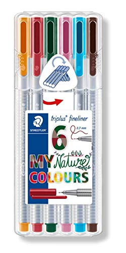 Staedtler 334 SB6CS2 Penna Fineliner da 0.3 mm