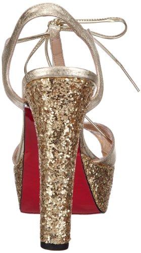 P1 Absinthe Damen Sandalen Gold (Gold)