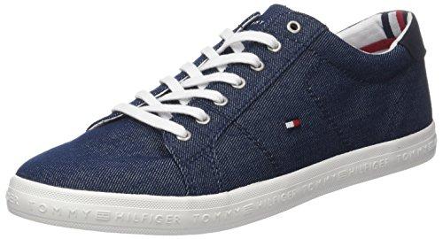 Tommy Hilfiger Herren Essential Long LACE Sneaker, Blau (Midnight 403), 43 EU