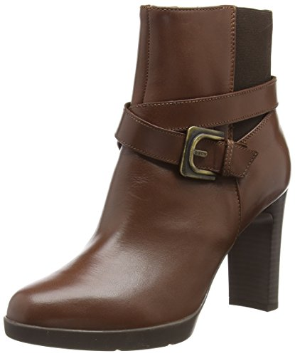 Geox Damen D ANNYA HIGH E Stiefeletten, Braun (Brown C0013), 39 EU