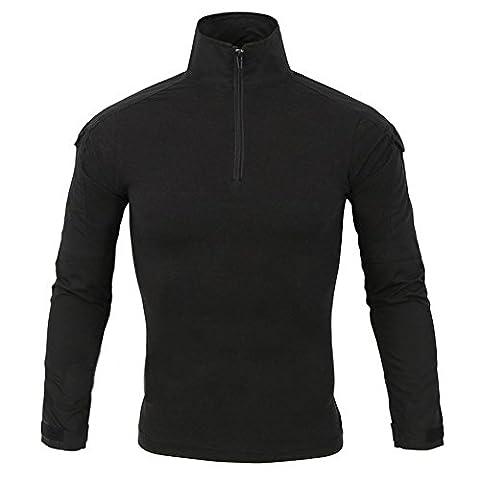 M.Baxter Herren Fitness Sweatshirt,Sport Freizeit Superhelden-Serie Armour T-Shirt, der Mensch kompression