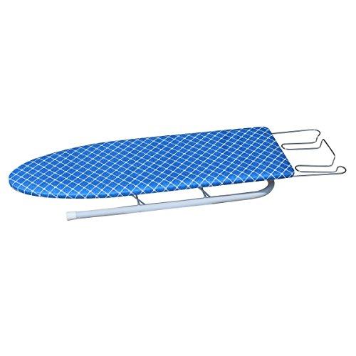 Ausziehbares Bügelbrett (PAKSIMA 0725 Tischbügelbrett mit ausziehbarer Bügeleisenablage, 92 x 26 x 10 cm)
