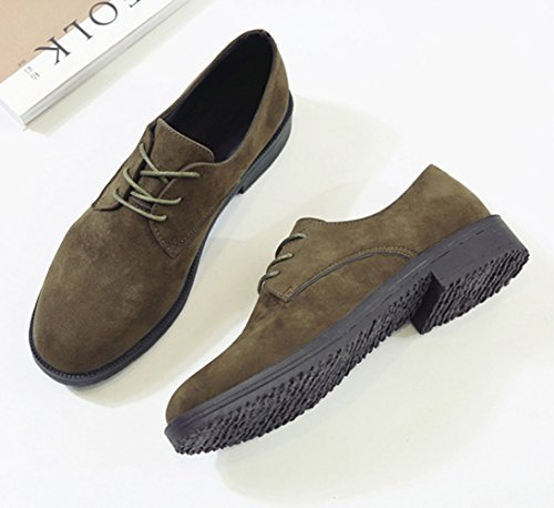 XTIAN - Pantofole Donna Armee-Grün