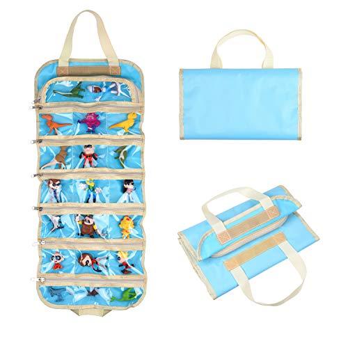 Bolsa de Almacenamiento de Organizador de Juguete Plegable para niñas - Ideal para Juguetes, Accesorios y coleccionables