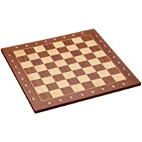 "Philos 40 mm Field ""London"" Chess Board with Numbers and Letters"