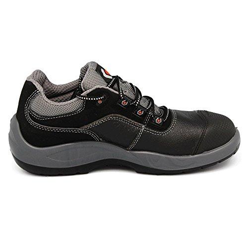 BASE S3 SRC Chaussures De Sécurité Construits Pour Le Travail - Sans métal Unisexe Schwarz