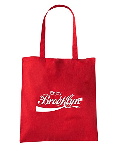 T-Shirtshock - Borsa Shopping ENJOY0025 ENJOY BROOKLYN Rosso