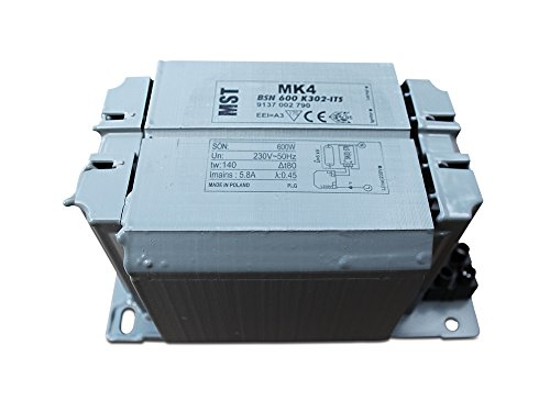 Vorschaltgerät VVG BSN600 für Natriumdampflampen wie SON und NAV 600 Watt 600W -
