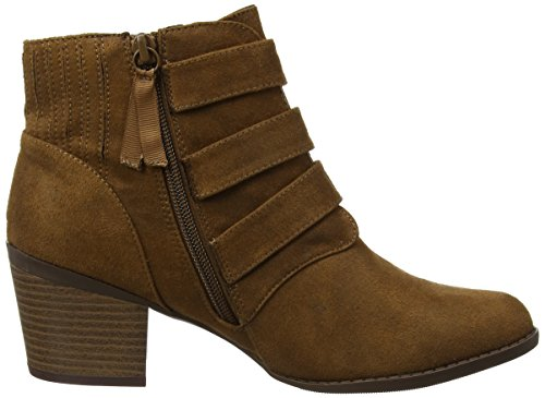 Dorothy Perkins Angela Buckle, Stivali Chelsea Donna Brown (Brown)